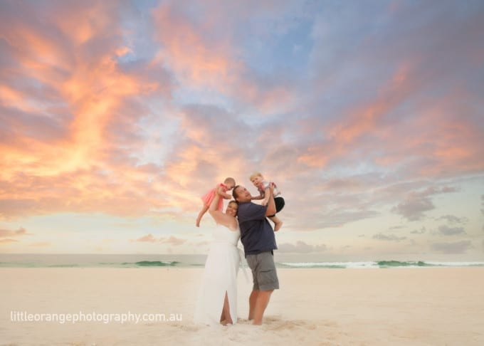Family photographer on the Gold Coast