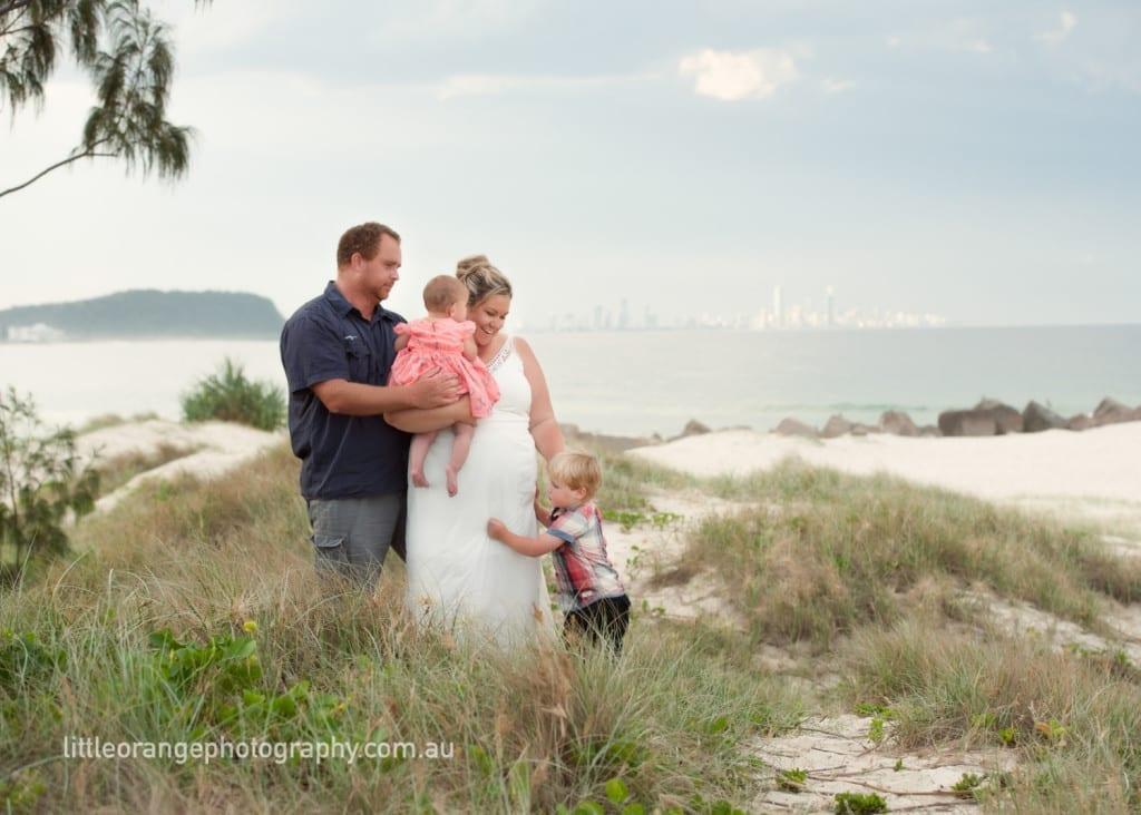 Family photos on the gold coast