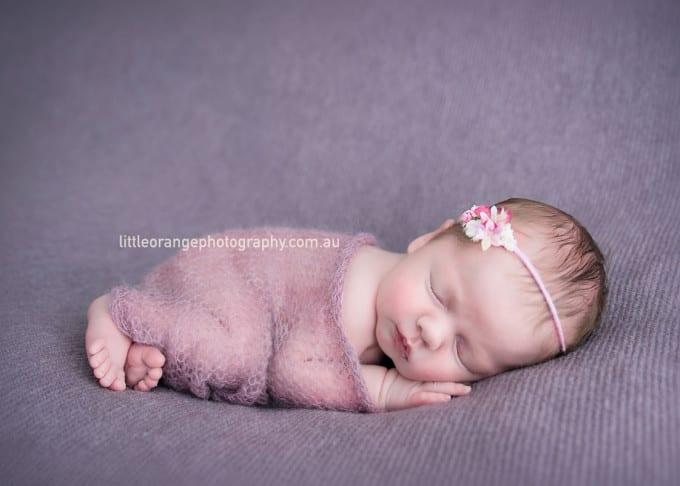 Abigail, 17 days – Gold Coast newborn photography