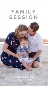 Affordable family photography
